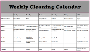 weekly-cleaning